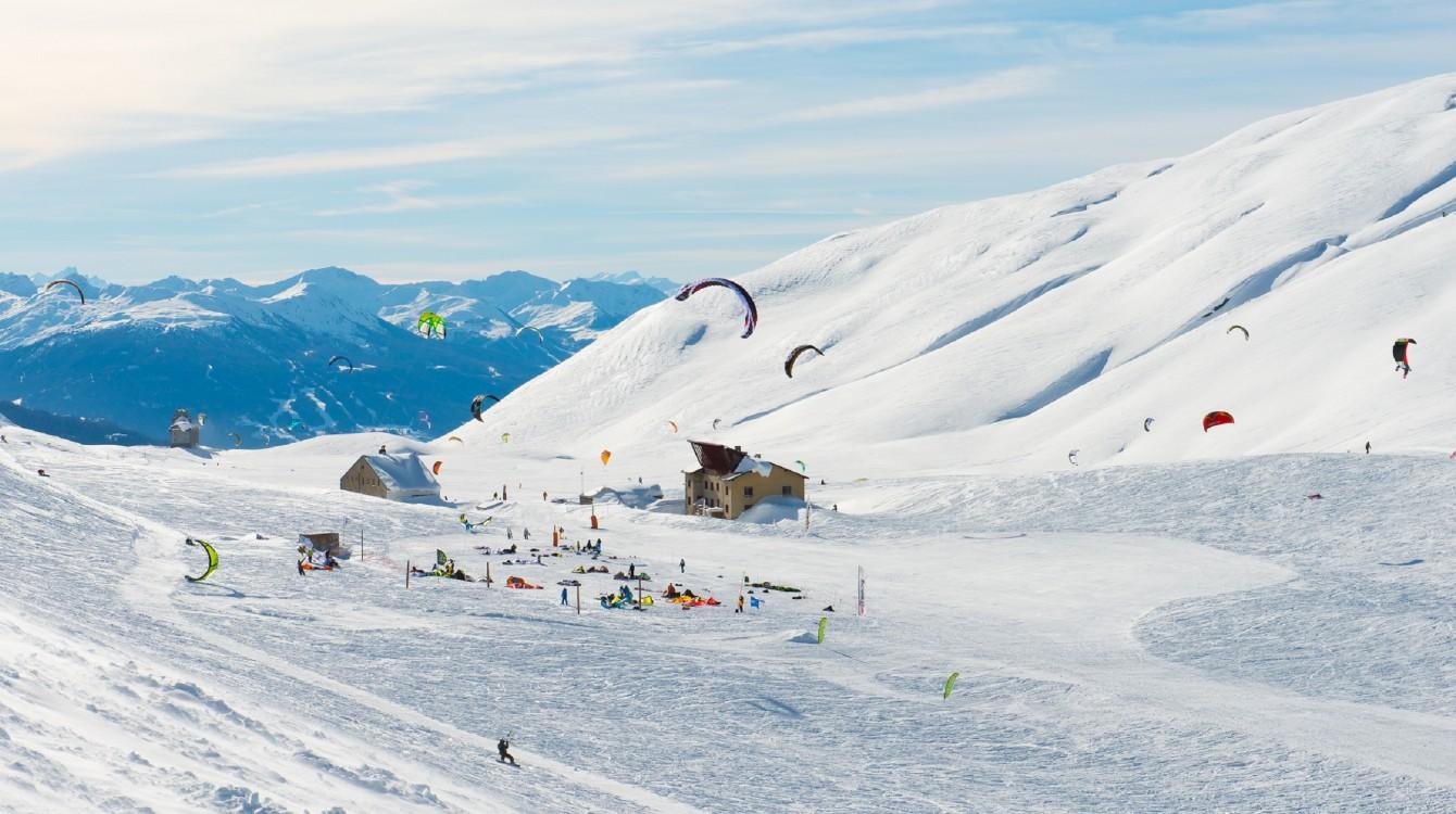 OT La Rosière - Snowkite - Images & Reves