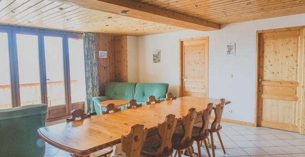 La Rosière - Chalet le Montana - Séjour - Eve Hilaire studiodes2prairies