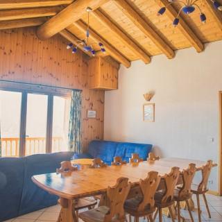 La Rosière - Chalet le Montana - Séjour 3e étage - Eve Hilaire studiodes2prairies